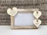 Shabby personalised Chic Photo Frame Auntie Aunty Aunt Great Aunt Any Name Gift - 253965104087